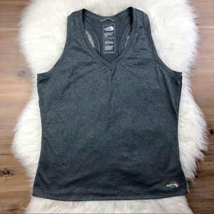 The North Face | Gray Racerback Tank Top Large